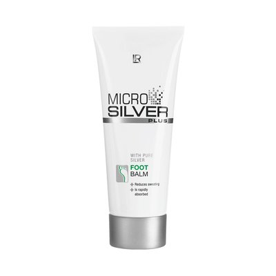 Microsilver Plus Fußcreme, 100 ml