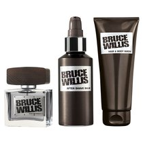 Bruce Willis Duftset: EdP, After Shave Balm & Haar- und...