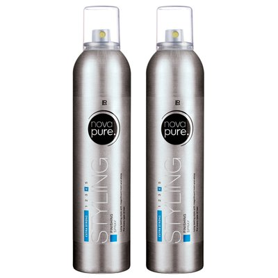 LR nova pure Styling Finishing Spray 2er-Set, 600 ml